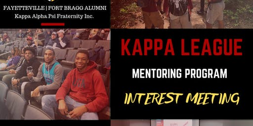 Kappa League Interest Meeting