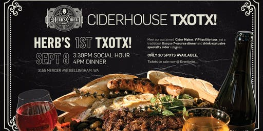 Herb's Cider Txotx!