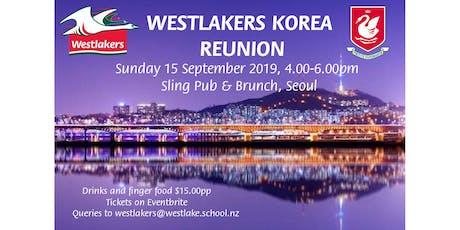 2019 Westlakers Korea Reunion tickets