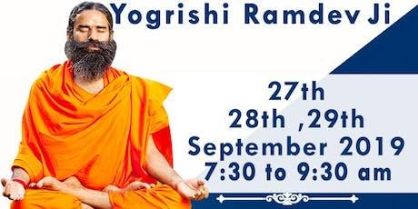 Yoga by Yogrishi Ramdev  tickets