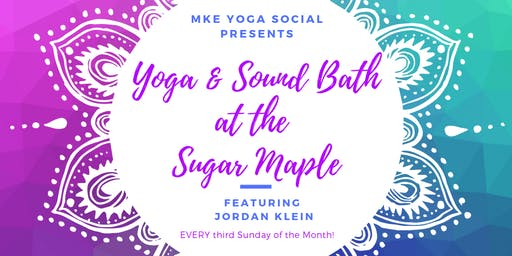 Yoga & Sound Bath at the Sugar Maple