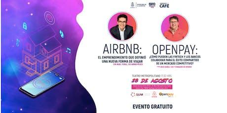 Efecto Juventud: Conferencia de Airbnb y Openpay tickets