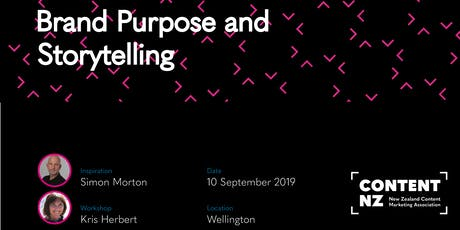 Content Mastery Part 1: Purpose and Storytelling with Simon Morton tickets