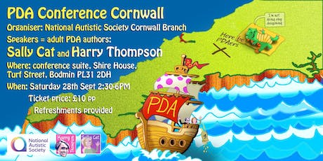 PDA Conference Cornwall tickets