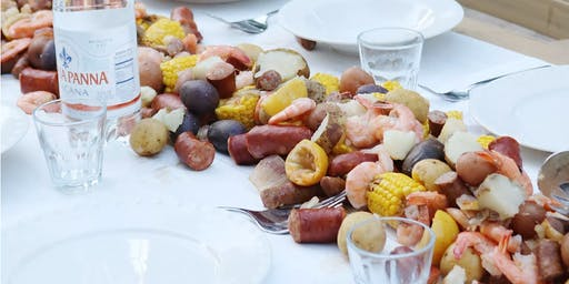 DSYC RUSTIC LONG TABLE SEAFOOD BOIL