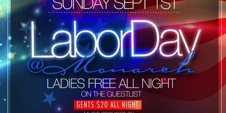 Labor Day Annual Rooftop Bash At Monrach Rooftop tickets