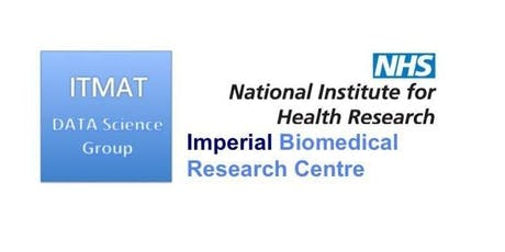 """Imperial College - ITMAT DSG Workshop 2019: """"Data Science Challenges and Opportunities in Translational Medicine"""" tickets"""