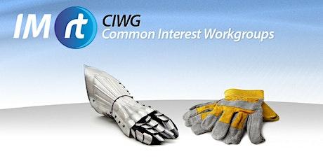 QLD IMRt CIWG | Innovation in Maintenance tickets