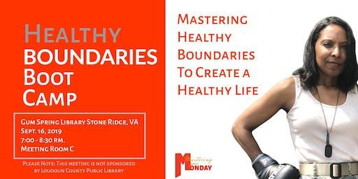Healthy Boundaries Boot Camp
