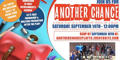YOUTH STAGE PLAY - ANOTHER CHANCE  tickets