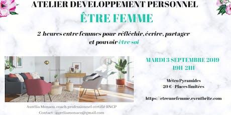 Atelier -ETRE  FEMME billets