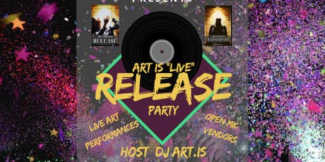 """ART is """"Live"""" Book Release Party tickets"""