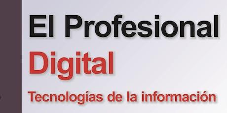 Presentación del libro El profesional digital entradas