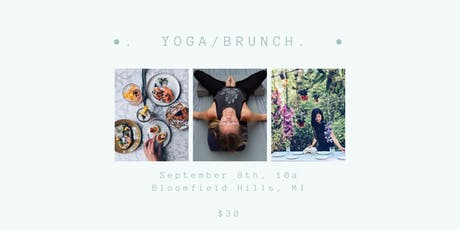 YOGA/BRUNCH  tickets