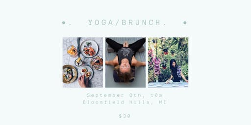 YOGA/BRUNCH