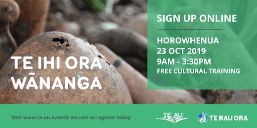 Te Ihi Ora Wānanga - Horowhenua
