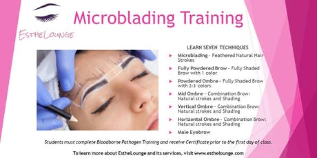 Microblading Training by EstheLounge tickets