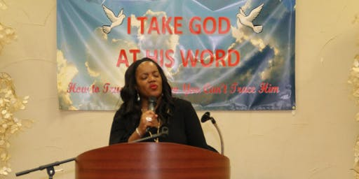 I Take God At His Word Conference 2019