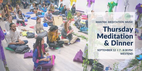Meditation & Dinner West End, 12th September tickets