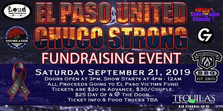 El Paso United Chuco Strong Fundraising Event tickets