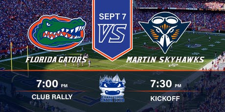 Charleston Gator Club: UT Martin vs. Florida Watch Party tickets