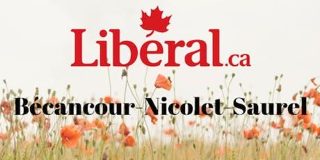 Investiture dans Bécancour-Nicolet-Saurel billets