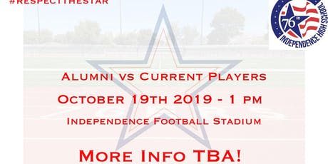 Independence High School Alumni Vs Current Players Flag Football Game tickets