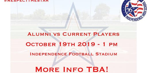 Independence High School Alumni Vs Current Players Flag Football Game