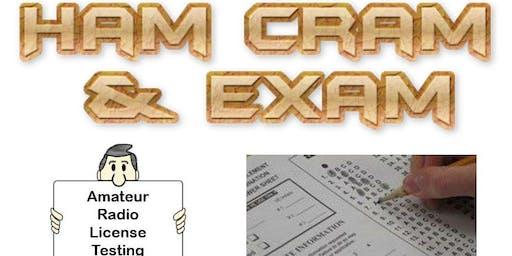 Manteca Hamcram (ham cram) & FCC Amateur Radio License Exam