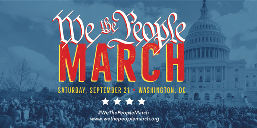 'WE THE PEOPLE MARCH' ~ Charter Bus from NYC to Washington, DC