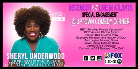 Sheryl Underwood - SPECIAL ENGAGEMENT tickets