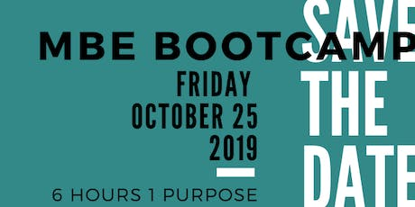 MBE/DBE Certification Bootcamp tickets