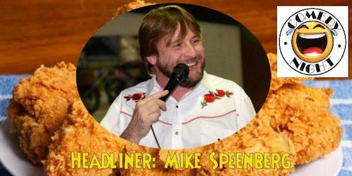 Country Fried Comedy with Mike Speenberg to benefit Hickory Soup Kitchen