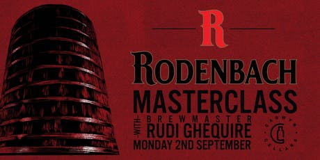 Rodenbach Masterclass with Brewmaster Rudi Ghequire tickets
