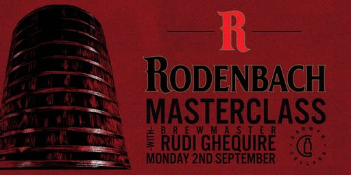 Rodenbach Masterclass with Brewmaster Rudi Ghequire