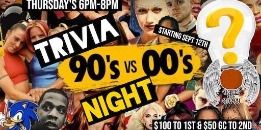 90s vs 2000s Trivia $100 Prize