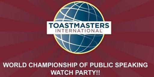 Winners Circle 2019 World Championship of Public Speaking Watch Party