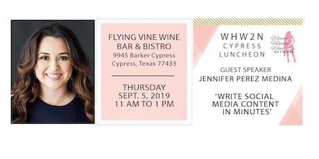 WHW2N - Cypress Luncheon tickets