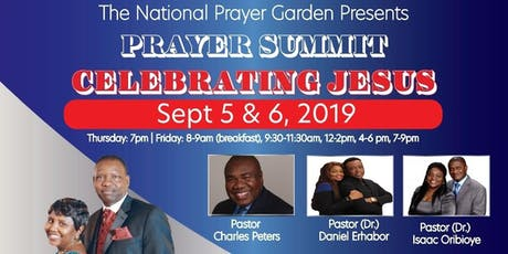National Prayer Garden Summit tickets