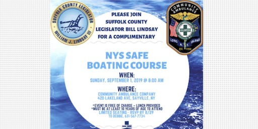 NYS Safe Boating Course & Brianna's Law: What you need to know