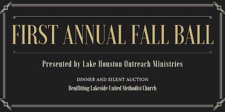 Lake Houston 1st Annual Fall Ball tickets