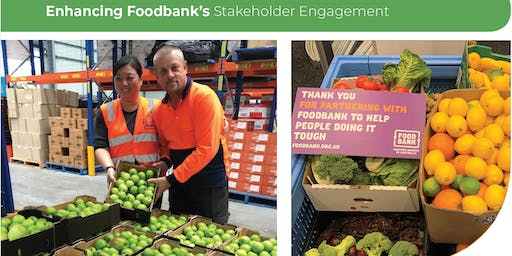 One Step Forward in the Fight Against Food Waste: Enhancing Volunteer Contribution at Foodbank Victoria