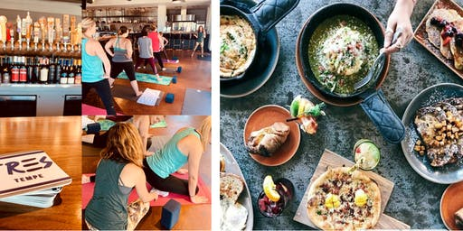 Yoga and Brunch at TRES Kitchen + Bar (Mediterranean) with Yoga's Arc