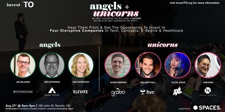 Angels + Unicorns (Investment + Startup Event) tickets