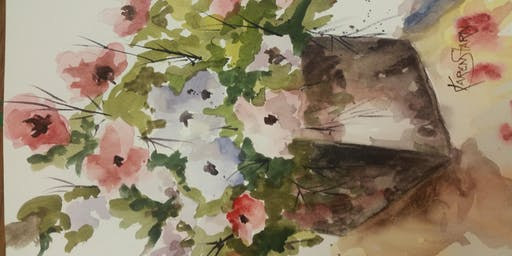Intro to Watercolor with Artist Karen Starn