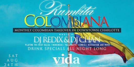 Rumbita Colombiana | Coco Tropical Saturdays at Downtown Charlotte