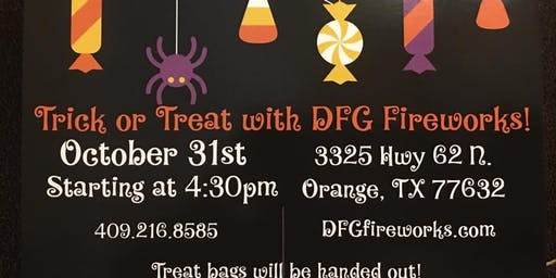 3nd Annual Trick or Treating with DFG