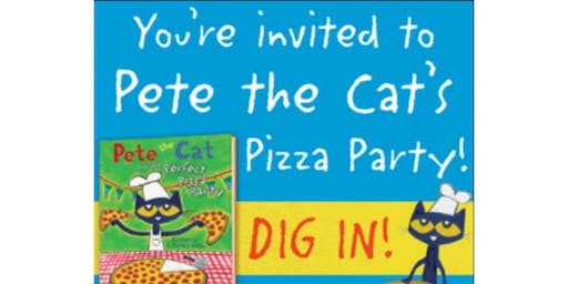 Pete The Cat Pizza Party!