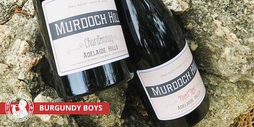 Adelaide Hills Wine Appreciation School - BURGUNDY BOYS FROM MURDOCH HILL