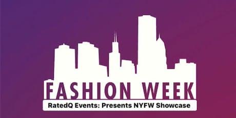 RatedQ Events: Presents NYFW Showcase tickets